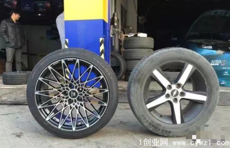 轮胎店最赚钱的项目